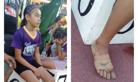 Who is Rhea Bullos? Did she win three races barefooted?