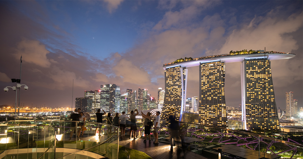 The new Supertree Observatory atop Gardens by the Bay's Tallest Supertree offers unblocked 360-degree views of Marina Bay - Alvinology
