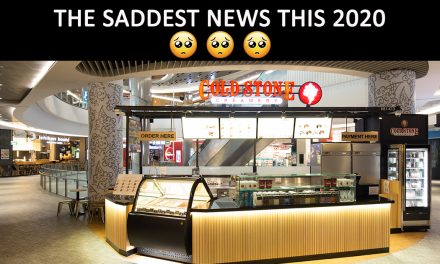 All Cold Stone Creamery outlets will close this 31 January 2020 after 10 years of operation