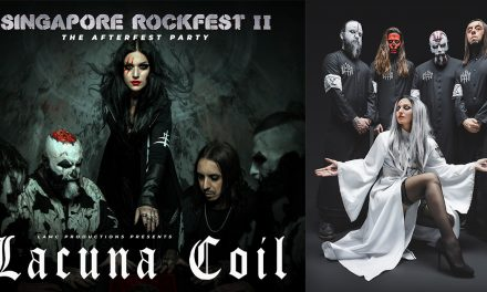 Lacuna Coil Italian alt-metal superstars to perform at Singapore Rockfest II The Afterfest Party on March 2020