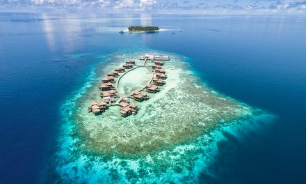 You can rent the entire Maldives Meradhoo Island Resort for a cool $1 million and invite 70 very lucky guests