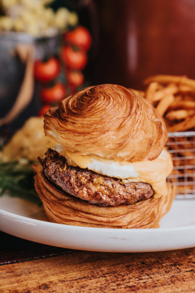 The Croburg - Singapore's most buttery croissant-burger with a juicy wagyu patty is now on available Spize! - Alvinology