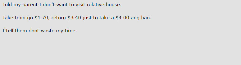 """Netizens weigh in on the $4 Ang Pao debate while """"secret rules"""" say $5 is the minimum - Alvinology"""