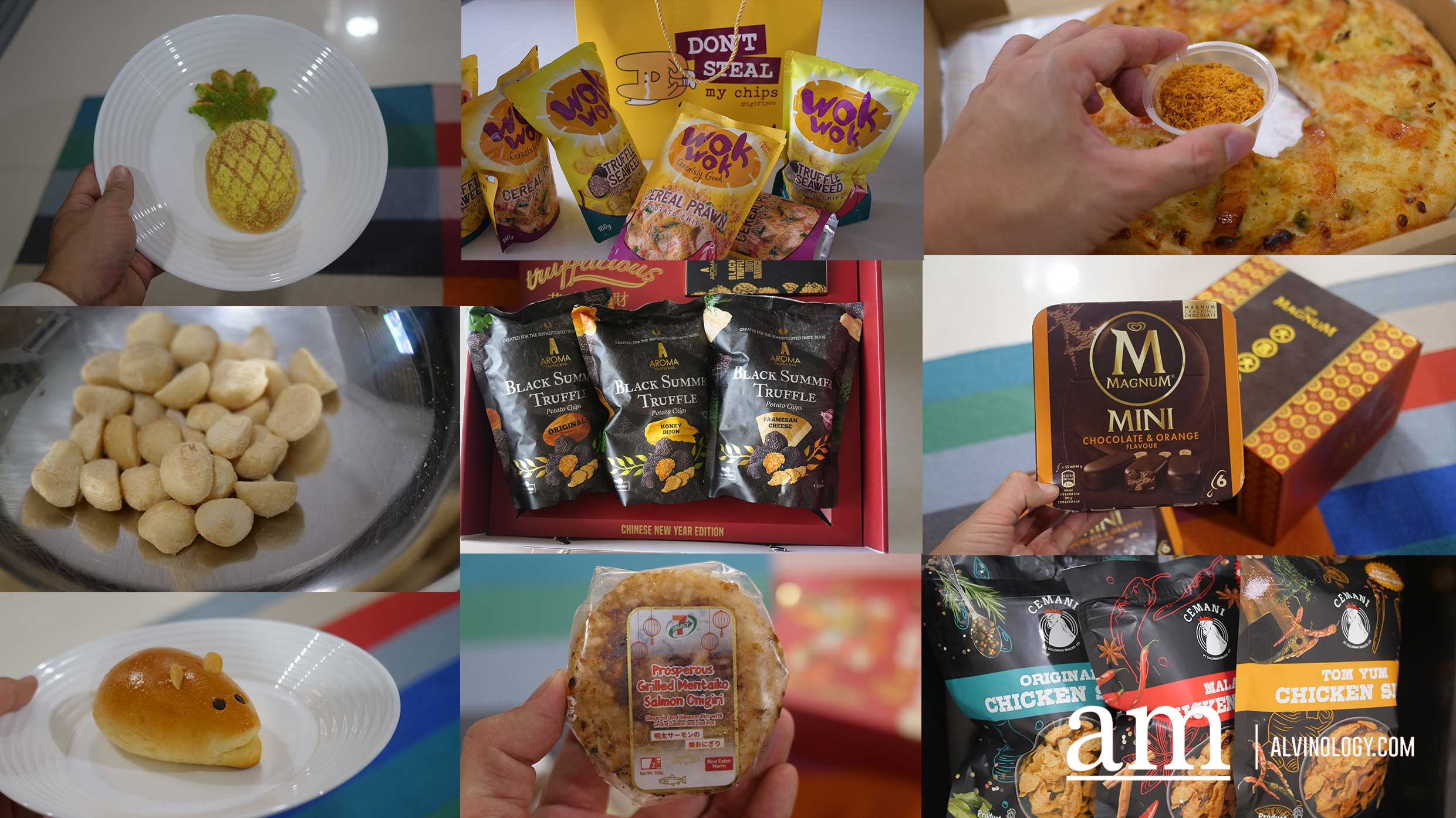 From Abalone Macadamia Nuts to Cereal Chicken Skin Crisps - All the Alternative CNY Snacks to Impress Your Guests in 2020 - Alvinology