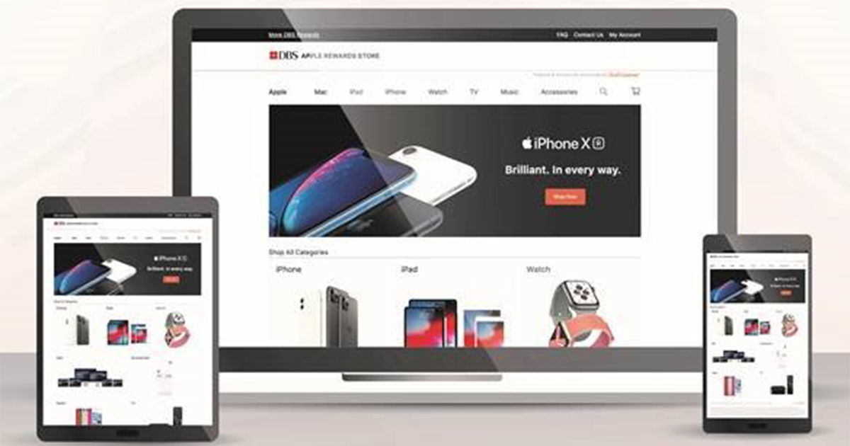 World's first online Apple Store launches – DBS Apple Rewards Store – with reward points, payment options and more!