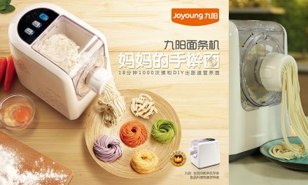 Craving for hot noodles? Make one at home in just a few with this easy-to-use Noodle Maker!