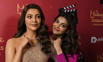 Kajal Aggarwal is immortalized in more than wax at Madame Tussauds Singapore
