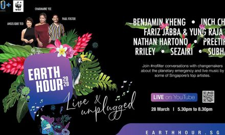 Singapore Earth Hour 2020 will go fully digital – enjoy live music by some of Singapore's top artistes