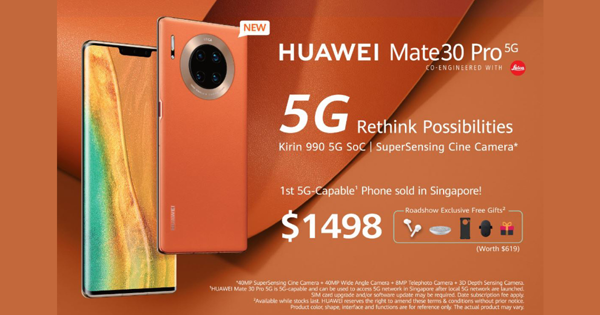 HUAWEI Mate 30 Pro 5G is here – it's fast, it's got great camera, and yes, it's vegan - see specs here - Alvinology