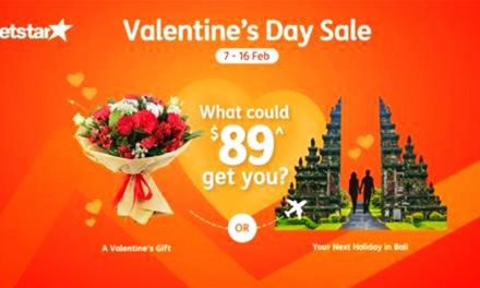[PROMO INSIDE] Jetstar price-matches flights to romantic destinations to cliché V-Day gifts till 16 February – book now!