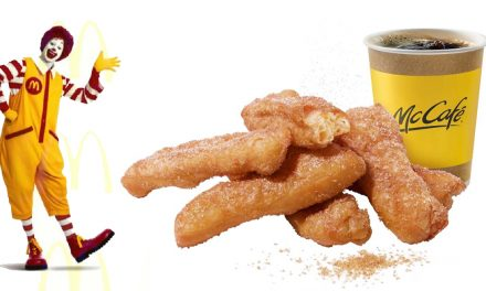 These new McDonald's Donut Sticks is your essential morning coffee's perfect partner