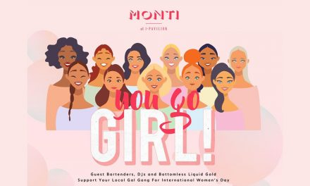 Celebrate International Women's Day at MONTI, Marina Bay and enjoy an exquisite Bottomless Brunch