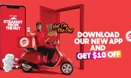 Download and install the new Pizza Hut app and get $10 off your first order today!
