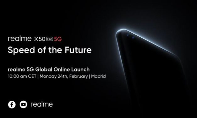 realme X50 Pro 5G – to hold its global online launch in Madrid this 24th February