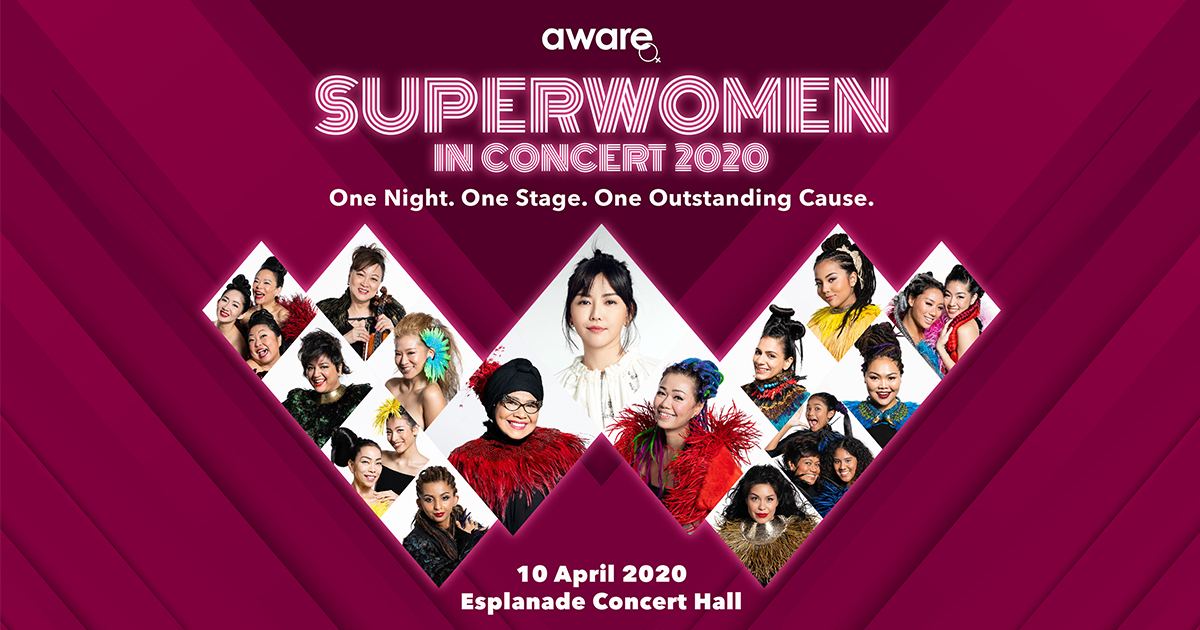 Superwomen in Concert 2020 – all-female line-up led by Stefanie Sun, Rahimah Rahim, Joanna Dong [get tickets here]
