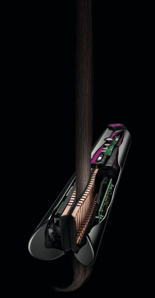 Dyson Corrale - the only hair straightener with flexing plate technology - Alvinology