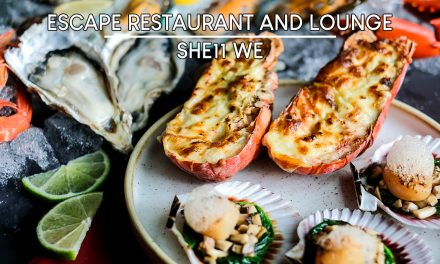 Enjoy Abundant Seafood Treasures and win 1-night One Farrer Hotel stay at Escape Restaurant and Lounge this April to May 2020