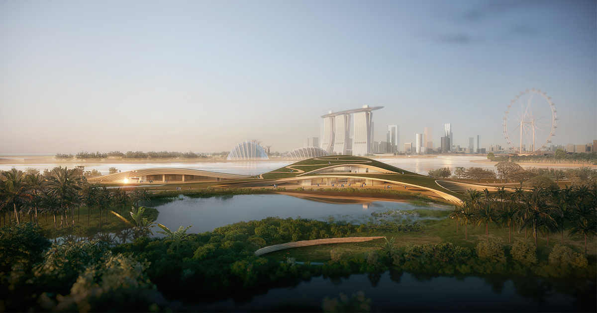 Here is the stunning design that won Founders' Memorial International Architectural Design Competition