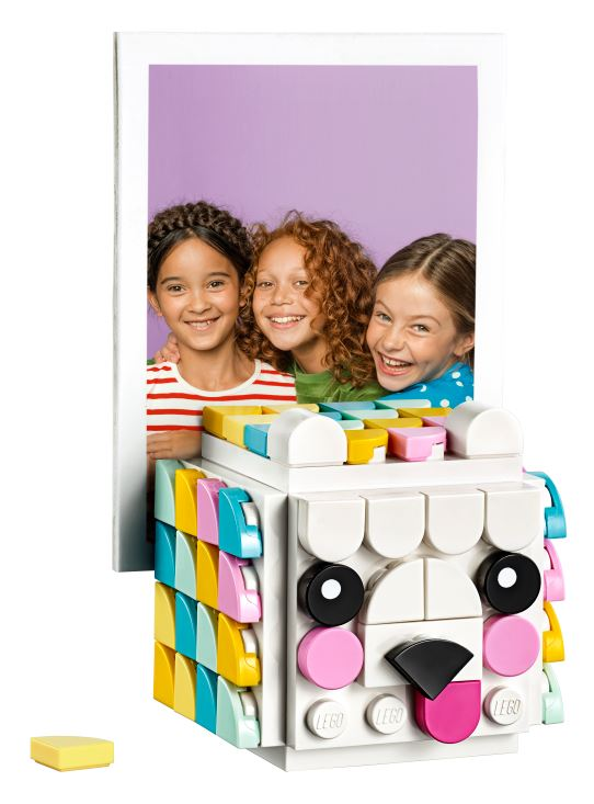 LEGO launches the new LEGO DOTS – 2D tile-based concept designed especially for young girls - Alvinology