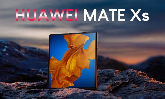 HUAWEI Mate Xs – the improved Huawei foldable mobile device will be available in Singapore this March for S$3,788