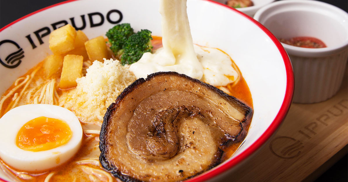 Thailand's top-selling Cheese Ramen is now available at IPPUDO Singapore! Try it now!