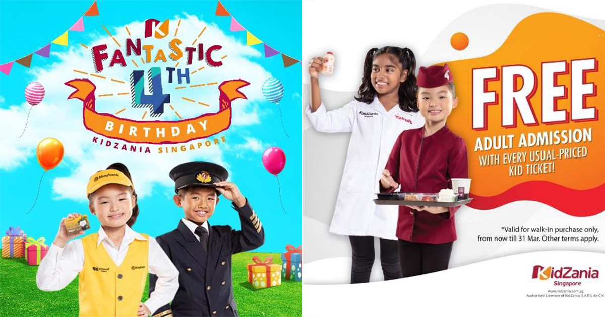 [PROMO INSIDE] Here are the exclusive promotions and holiday activities you can find at KidZania Singapore this March and April