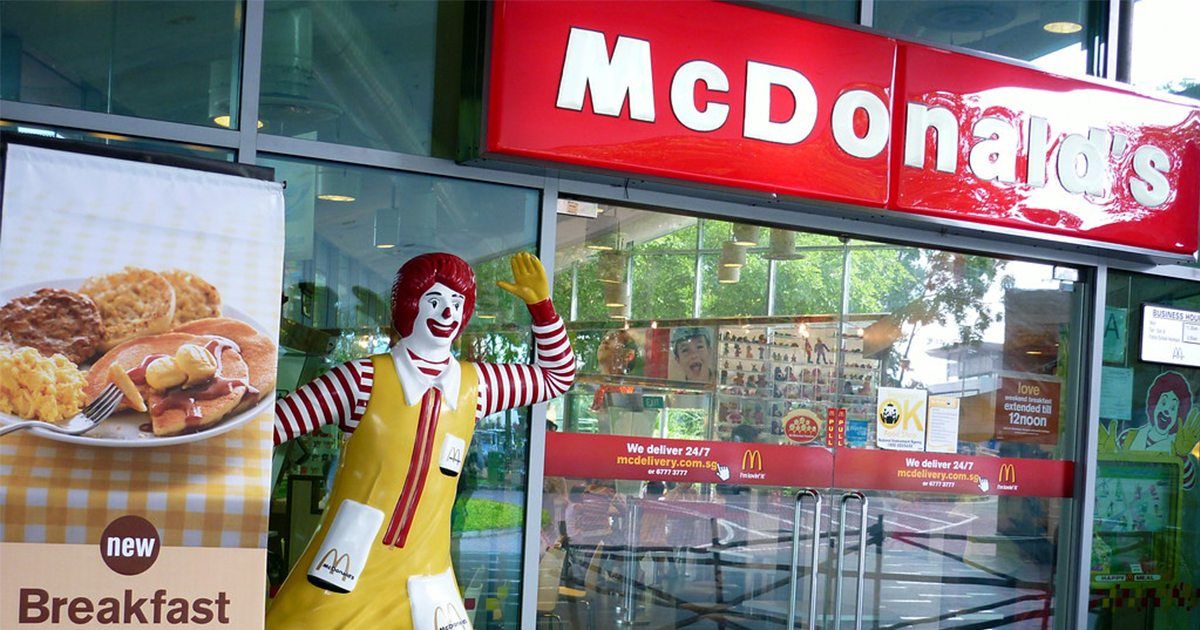 Iconic McDonald's outlet at Science Centre Singapore to close permanently this 22 March