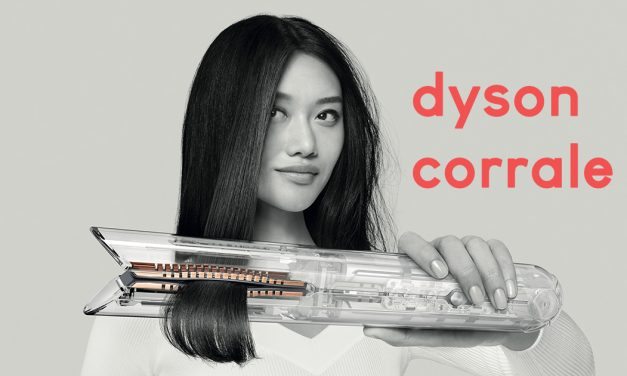 Dyson Corrale – the only hair straightener with flexing plate technology