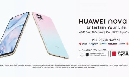 New HUAWEI nova 7i – Available for pre-order in Singapore from 5 March (see full phone specifications here)