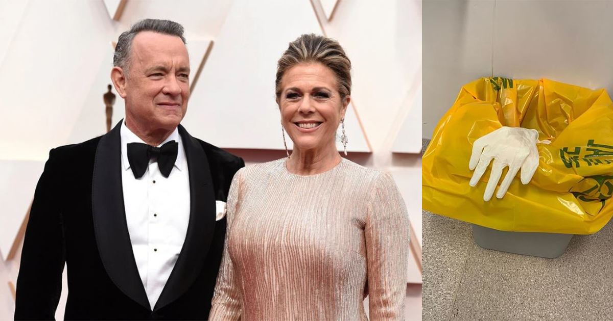 Tom Hanks and wife got slight fevers in Australia, tested positive for coronavirus - Alvinology