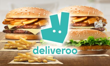 [STAY HOME PERKS] Here's a list of PROMOs you can enjoy on Deliveroo today!