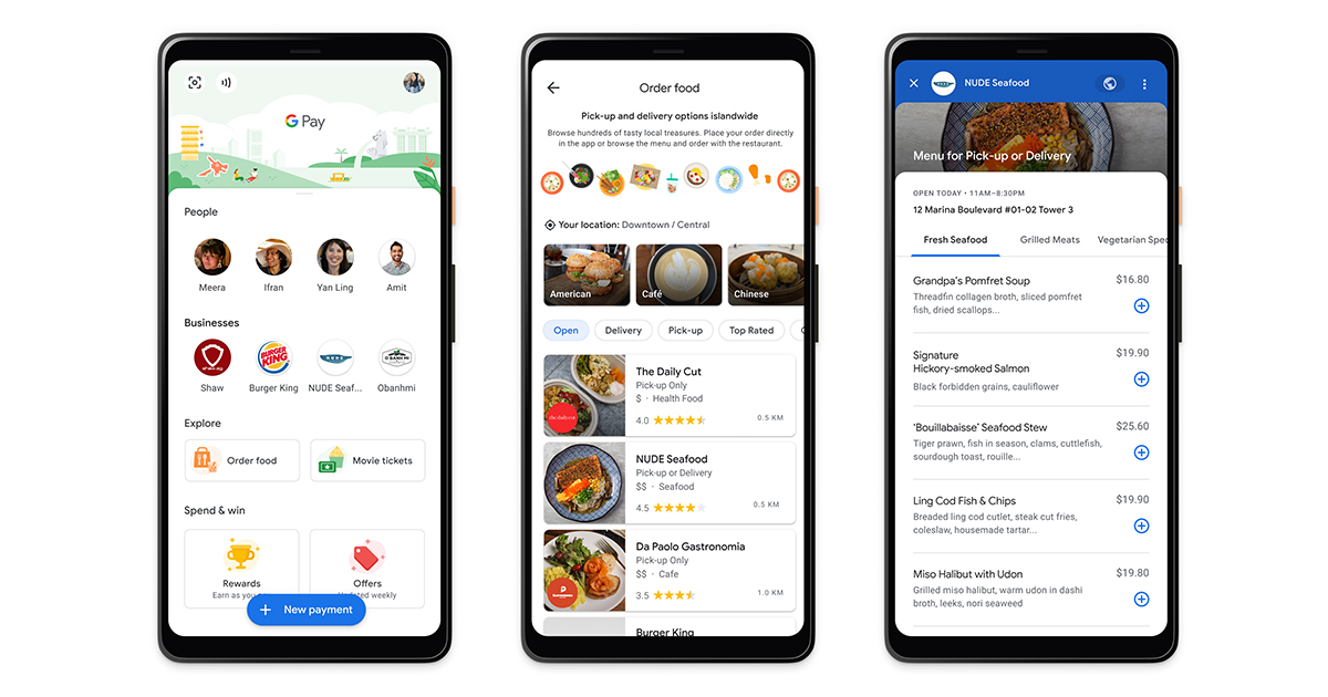 Google Pay now offers a free menu discovery feature for food establishments - register here! - Alvinology