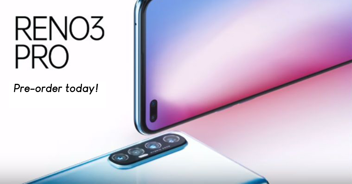 The Oppo Reno3 launches at S$549; pre-order today for only S$499 and get a gift bundle worth S$189