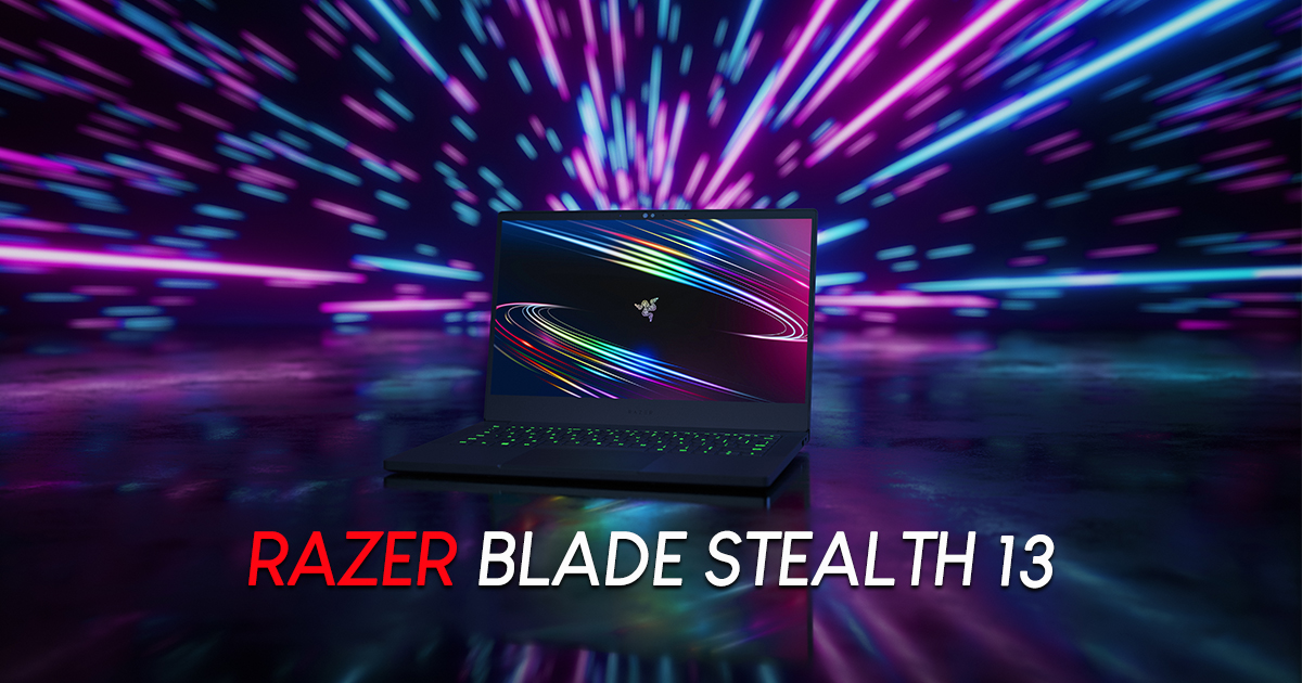 "Razer claims the new Blade Stealth 13 is the world's fastest 13"" gaming Ultrabook and here's why - Alvinology"