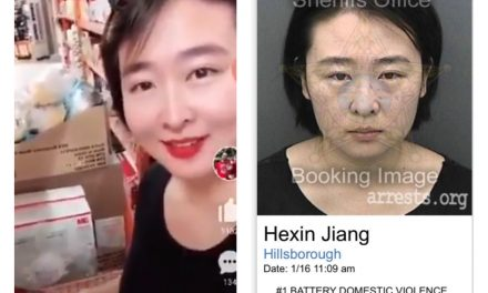Chinese woman angers Americans after buying out face masks in Central Florida