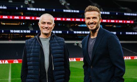 David Beckham and Tottenham Hotspur to share healthy living tips during the Circuit Breaker