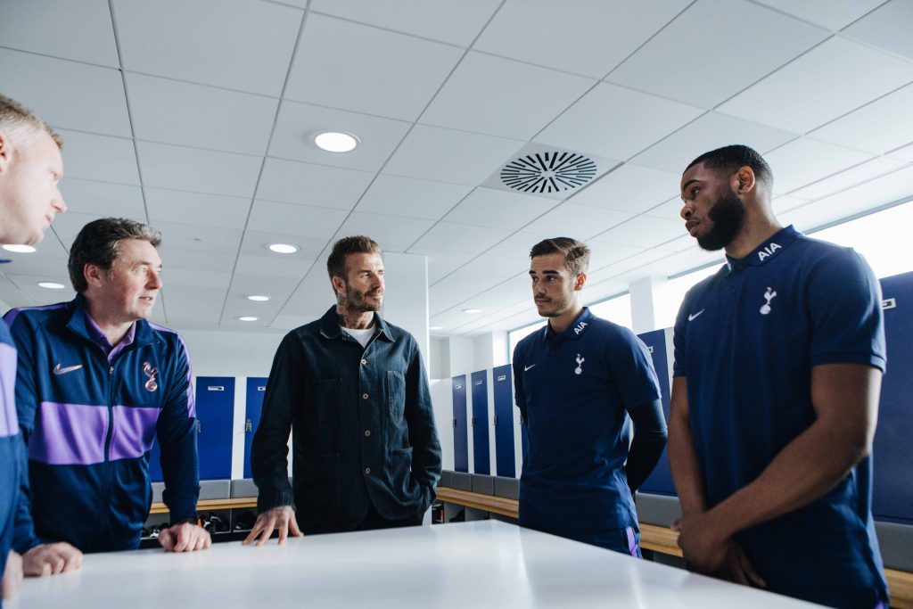 David Beckham and Tottenham Hotspur to share healthy living tips during the Circuit Breaker - Alvinology