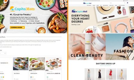 [PROMO] CapitaLand launches eCapitaMall and Capita3Eats – be one of the first shoppers and get 20% OFF your purchase