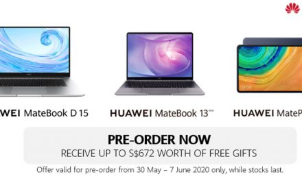 Huawei's first-ever laptop range and flagship tablet are launching in Singapore this 8 June!