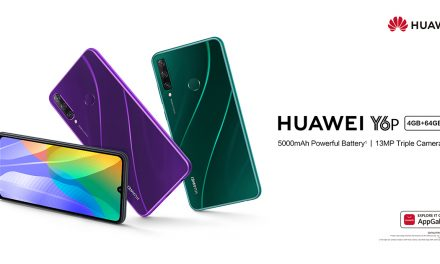 HUAWEI Y6p houses a massive 5000mAh battery and will be available on 16 May for only S$218