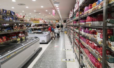 What the reopened Mustafa supermarket looks like inside