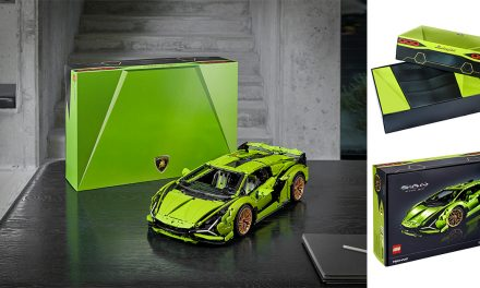 The LEGO Thunderbolt: LEGO Technic Lamborghini Sian FKP 37 is here and it's everything you ever dreamt of!