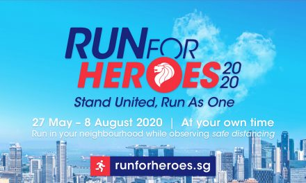 Run for Heroes 2020 – a virtual running event to show some love to frontliners in the battle against COVID-19