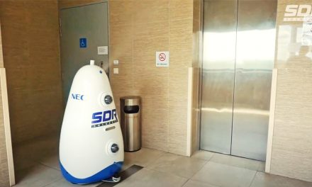 World's First Self-Cleansing Disinfecting Robot is here and it's made in Singapore