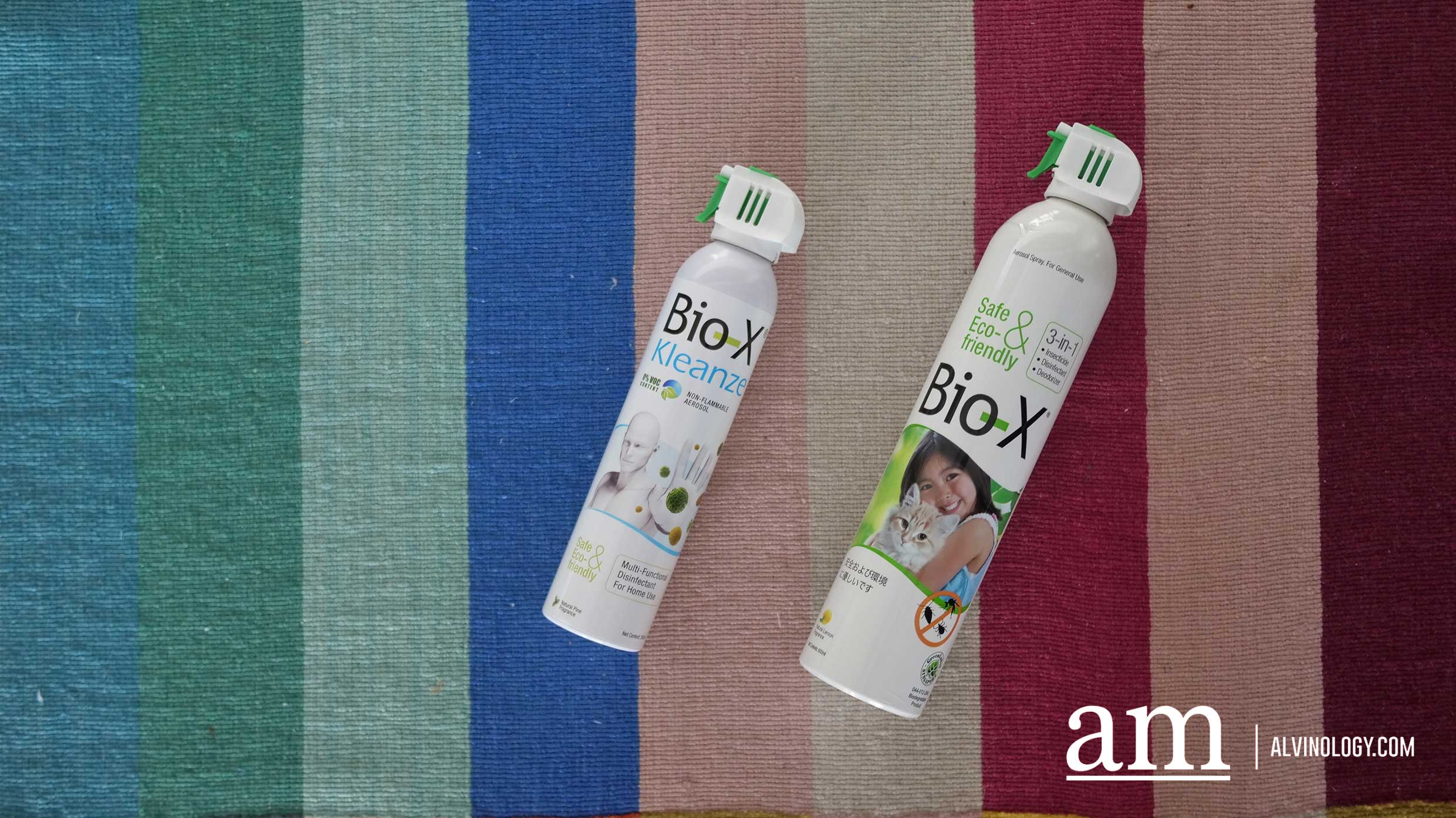 Protect against both Mosquitoes and Viruses with one Spray from Bio-X - Alvinology