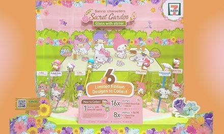 Sugoi! Japan's Sanrio Secret Garden Collectables arrive at 7-Eleven Singapore