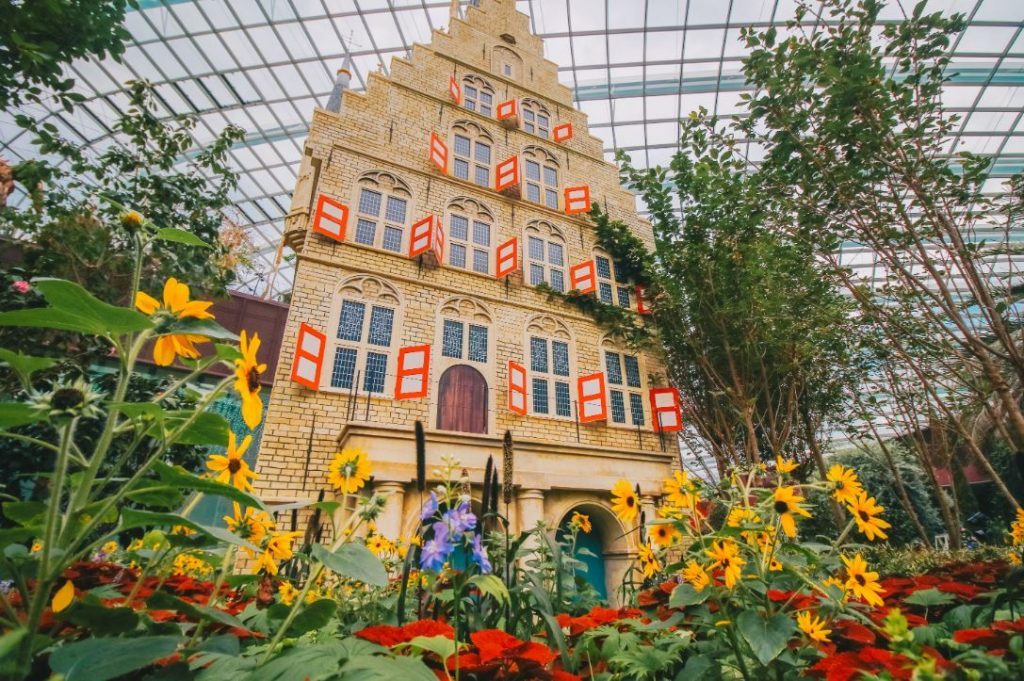 Flower Dome to open in July with an idyllic European-themed display, pre-book timed-entry now available! - Alvinology