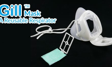 This Singapore-designed Reusable Respirator Gill Mask can be used daily for two years!