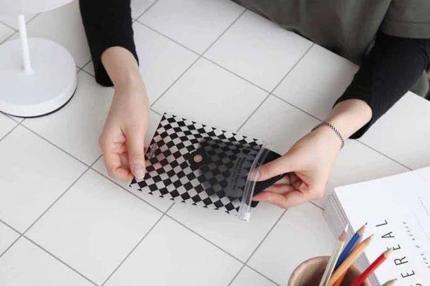 King'S Metal Negative Ion Sterilisation Mask Storage Bag - Alvinology