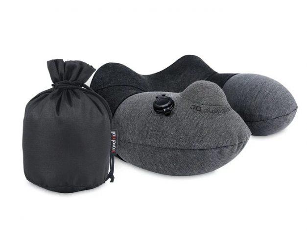 Travelmall 3D Inflatable Neck Pillow - Alvinology